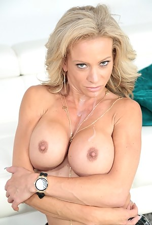 Free Fake Tits MILF Porn Pictures