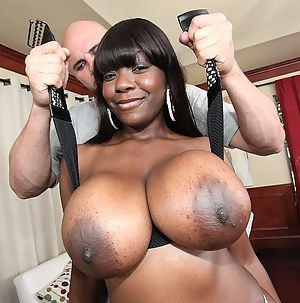 Free MILF Big Black Tits Porn Pictures